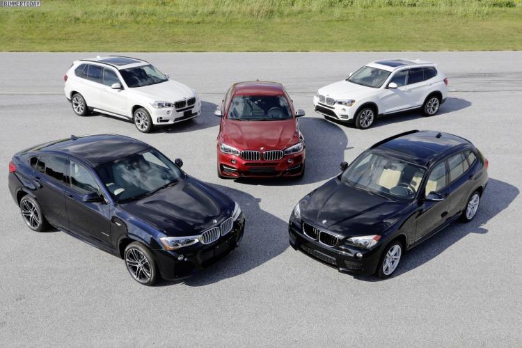 15-Jahre-BMW-X-Modelle-Jubilaeum-2014-BMW-X6-X5-X4-X3-X1