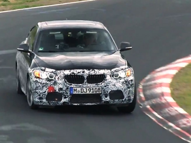 2014-BMW-M235i-F22-Video-2er-Coupe-Erlkoenig-Nuerburgring