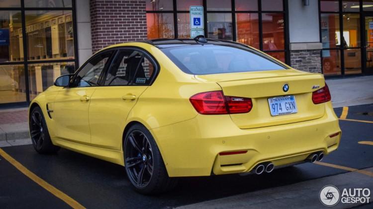 2014-BMW-M3-Dakar-Gelb-F80-Dakar-Yellow-Individual-Lackierung-Autogespot-02