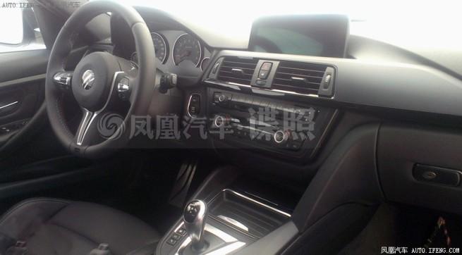 2014-BMW-M3-F80-Innenraum-Erlkoenig-Spyshots