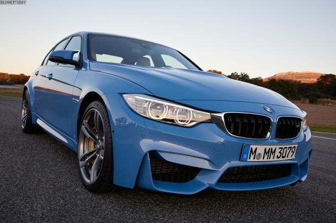 2014-BMW-M3-F80-Yas-Marina-Blue-Limousine-F30-07