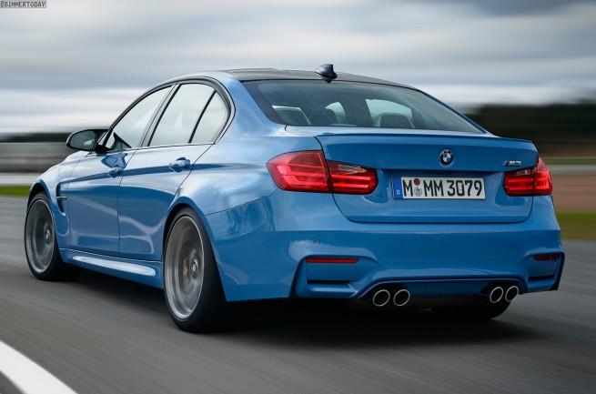 2014-BMW-M3-F80-Yas-Marina-Blue-Limousine-F30-12