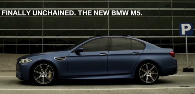 2014-BMW-M5-Django-unchained-Video-F10-LCI-Facelift