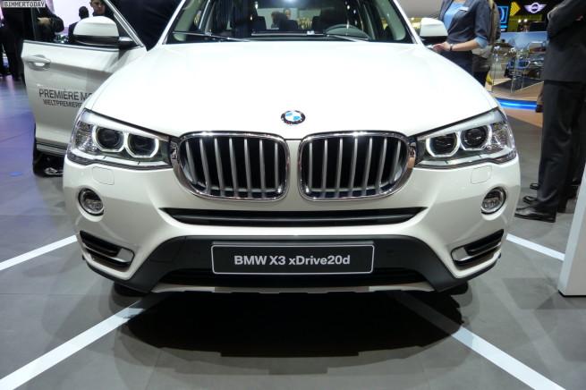 2014-BMW-X3-F25-LCI-Facelift-20d-xLine-Paket-Genfer-Autosalon-Live-03