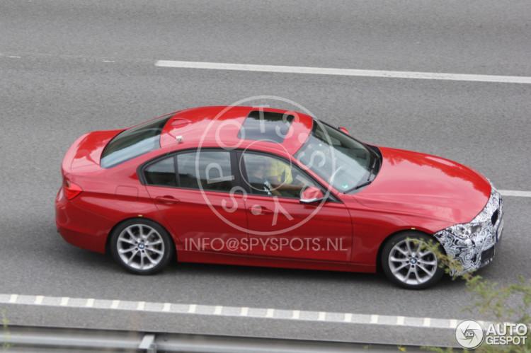 2015-BMW-3er-F30-LCI-Facelift-Erlkoenig-Autogespot-1