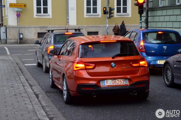 2015-BMW-M135i-Facelift-F21-LCI-F20-Valencia-Orange-Autogespot-02