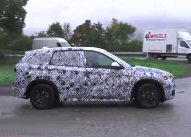 2015-BMW-X1-Spy-Video-Frontantrieb-Kompakt-SUV