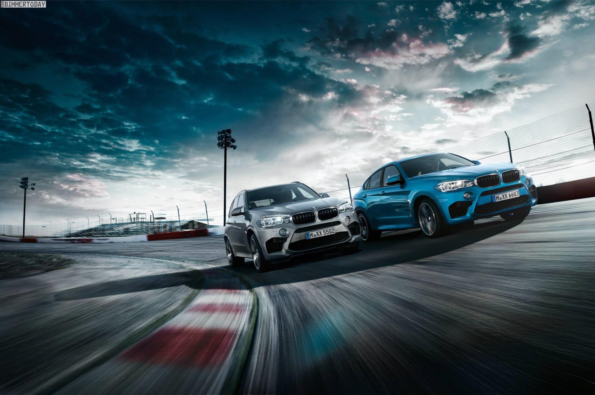 BMW X6 M F86 & BMW X5 M F85: Offizielle Wallpaper
