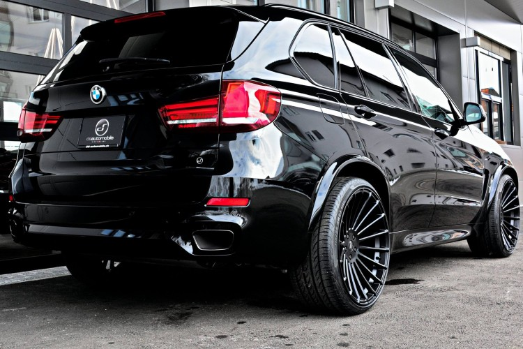 hamann bmw x5 f15 m50d mit 430 ps auf 23 tuning felgen. Black Bedroom Furniture Sets. Home Design Ideas