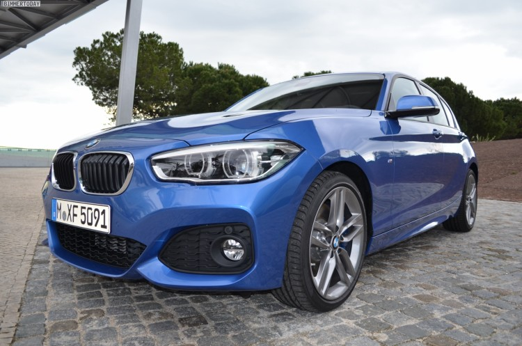 2015-BMW-1er-F20-LCI-Facelift-M-Sportpaket-Estoril-Blau-09