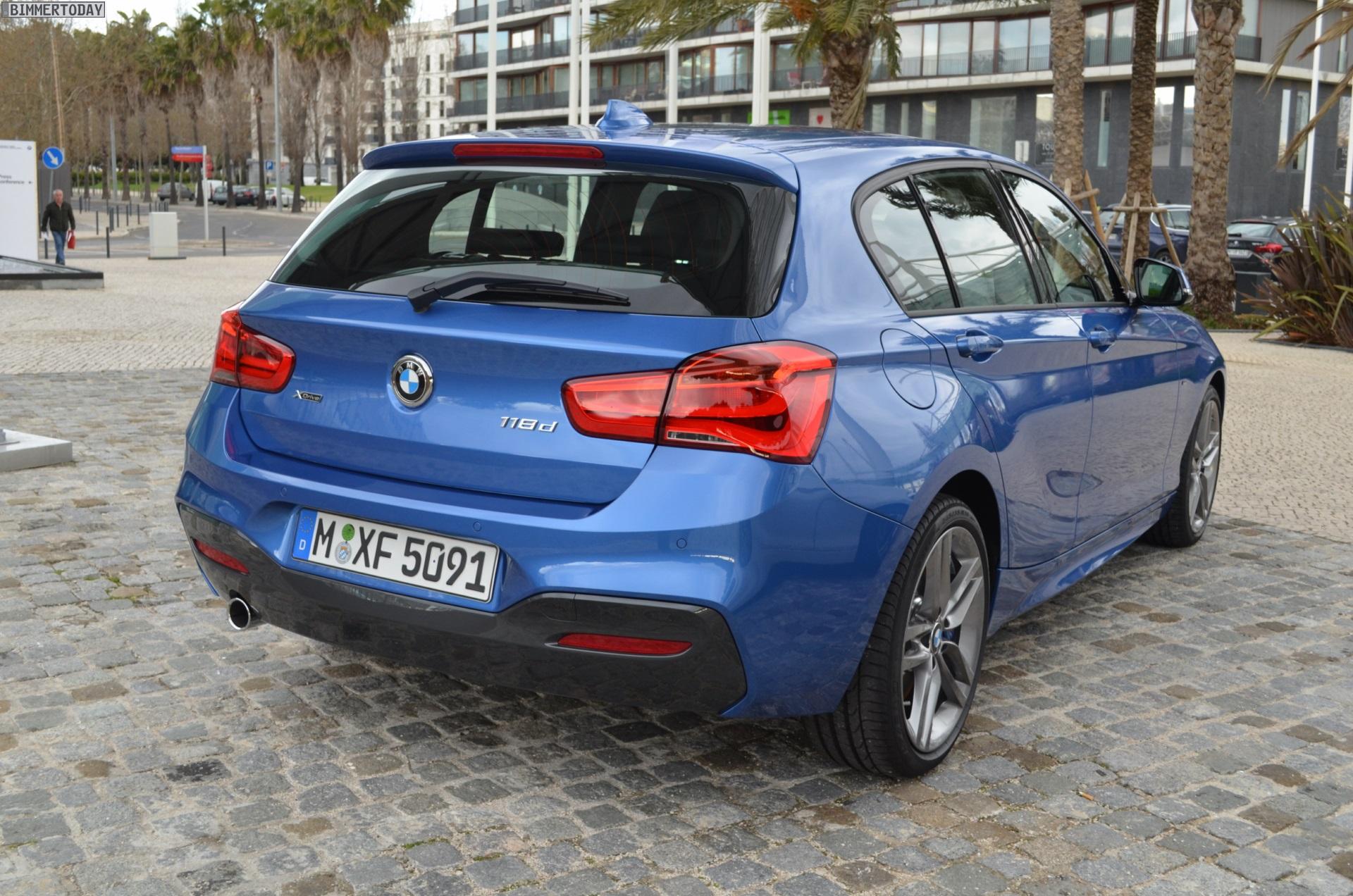 Bmw 1er Facelift 2015 F20 Lci Mit M Sportpaket In Estorilblau