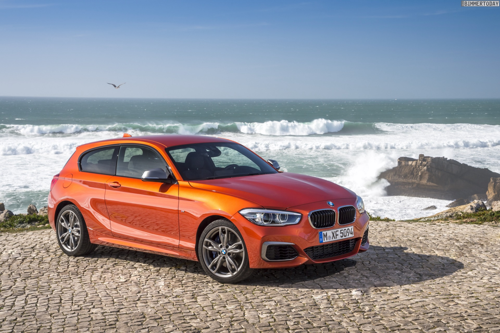 Bmw M135i Facelift 2015 Neue Fotos In Valencia Orange