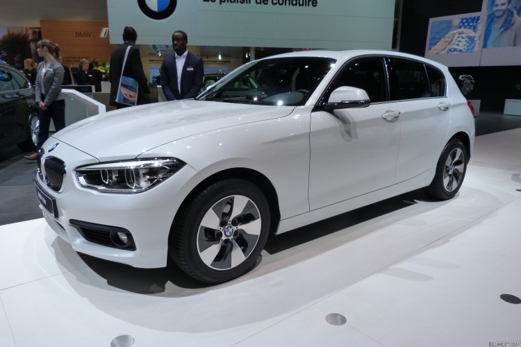 BMW-1er-Facelift-2015-F20-LCI-116d-EfficientDynamics Edition-Mineralweiß-Autosalon-Genf-LIVE-01