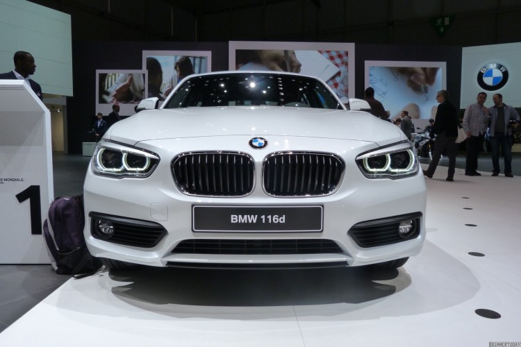 BMW-1er-Facelift-2015-F20-LCI-116d-EfficientDynamics Edition-Mineralweiß-Autosalon-Genf-LIVE-22