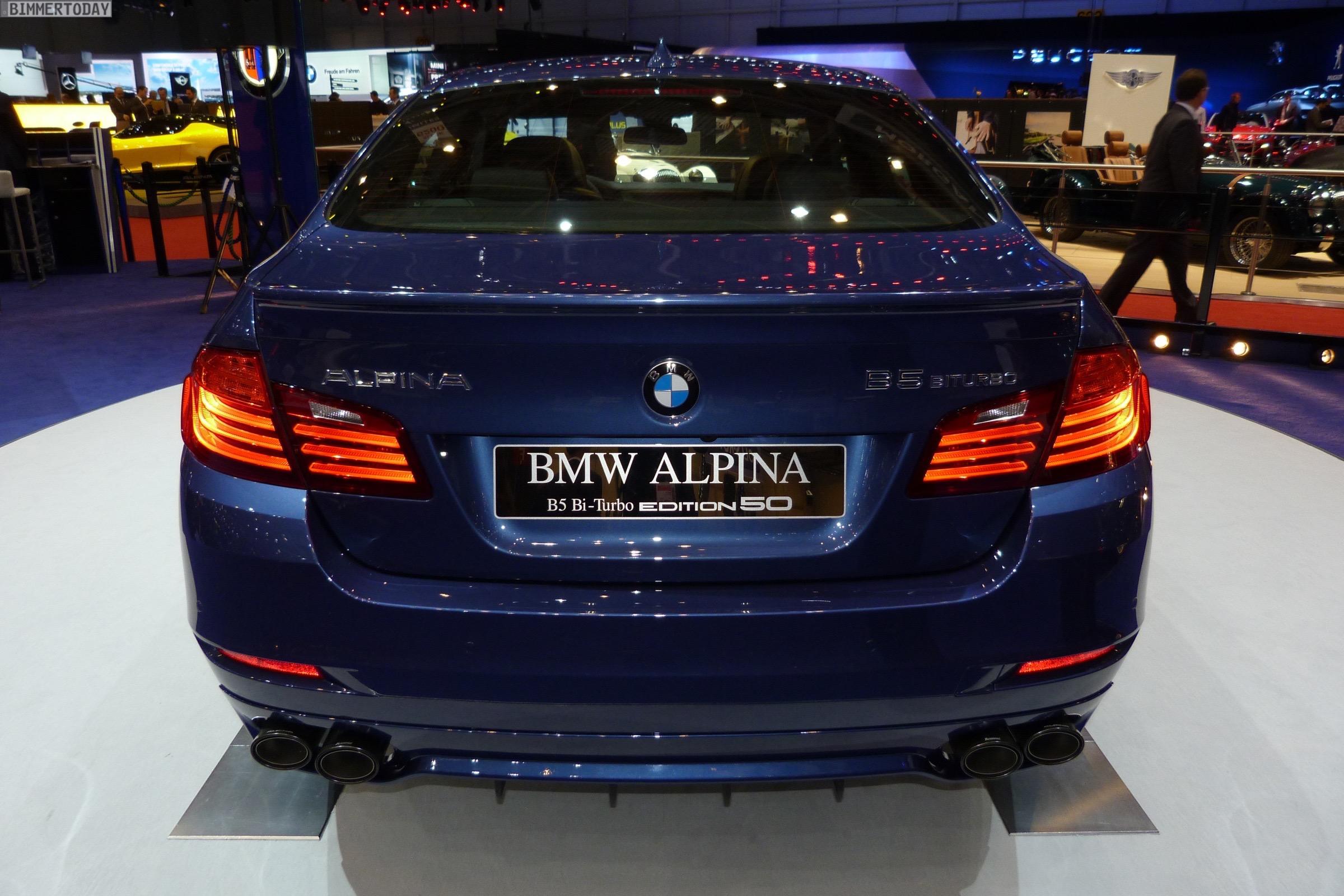 Genfer Autosalon 2015: BMW Alpina B5 Edition 50 – Fotos