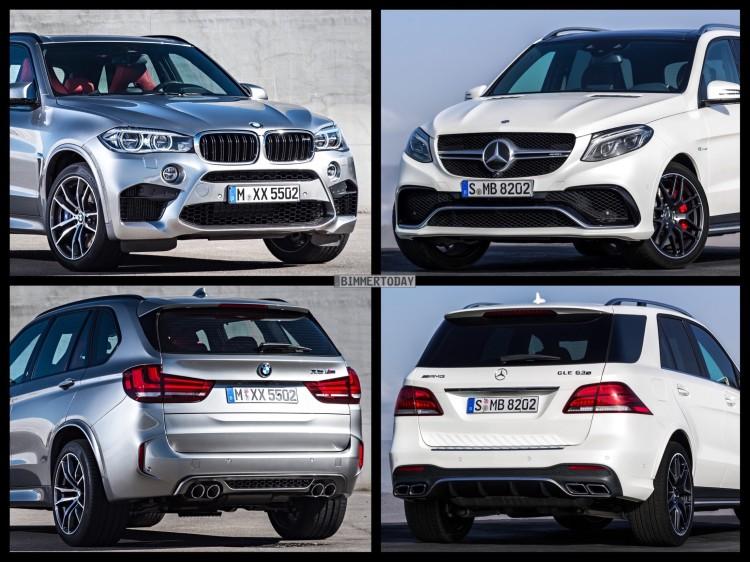 Bild-Vergleich-BMW-X5-M-F85-Mercedes-GLE-63-S-AMG-SUV-2015-01