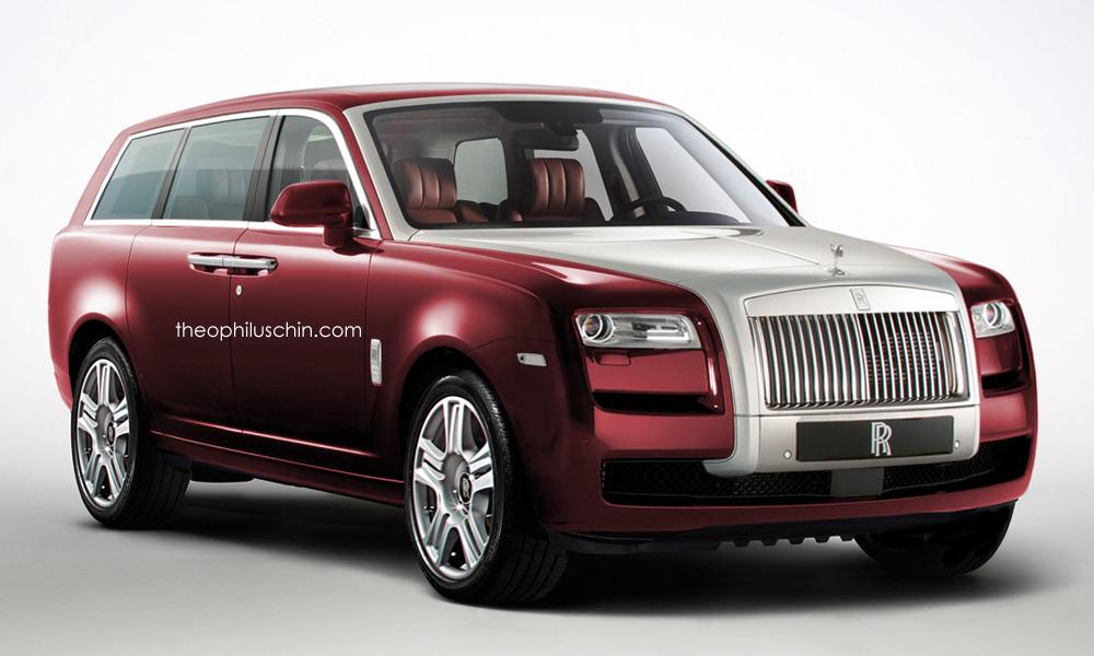 Rolls Royce Suv Photoshop Entw 252 Rfe Zeigen Luxus Suv