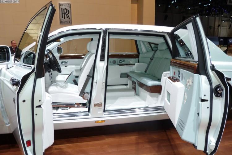 Genfer Autosalon 2015 Rolls Royce Serenity Phantom Ewb