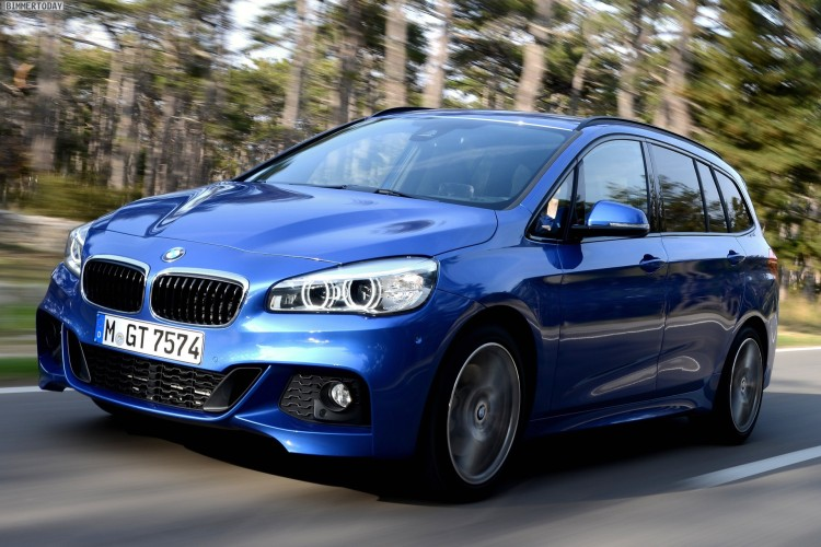 Bmw 2er Gran Tourer Mehr Fotos Mit M Paket In Estorilblau