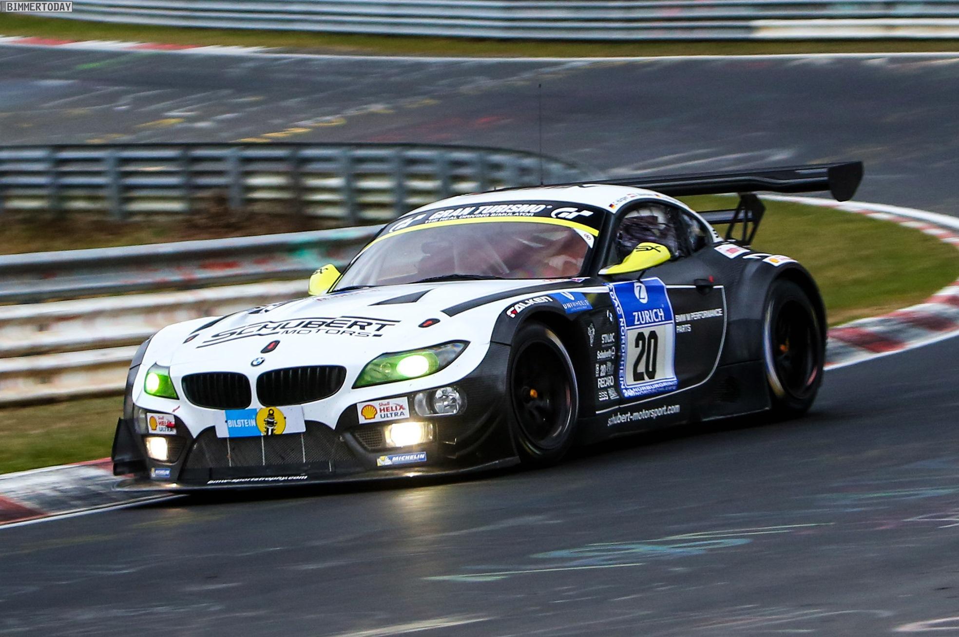 24h N 252 Rburgring 2015 Bmw Z4 Gt3 Gewinnt Quali Rennen