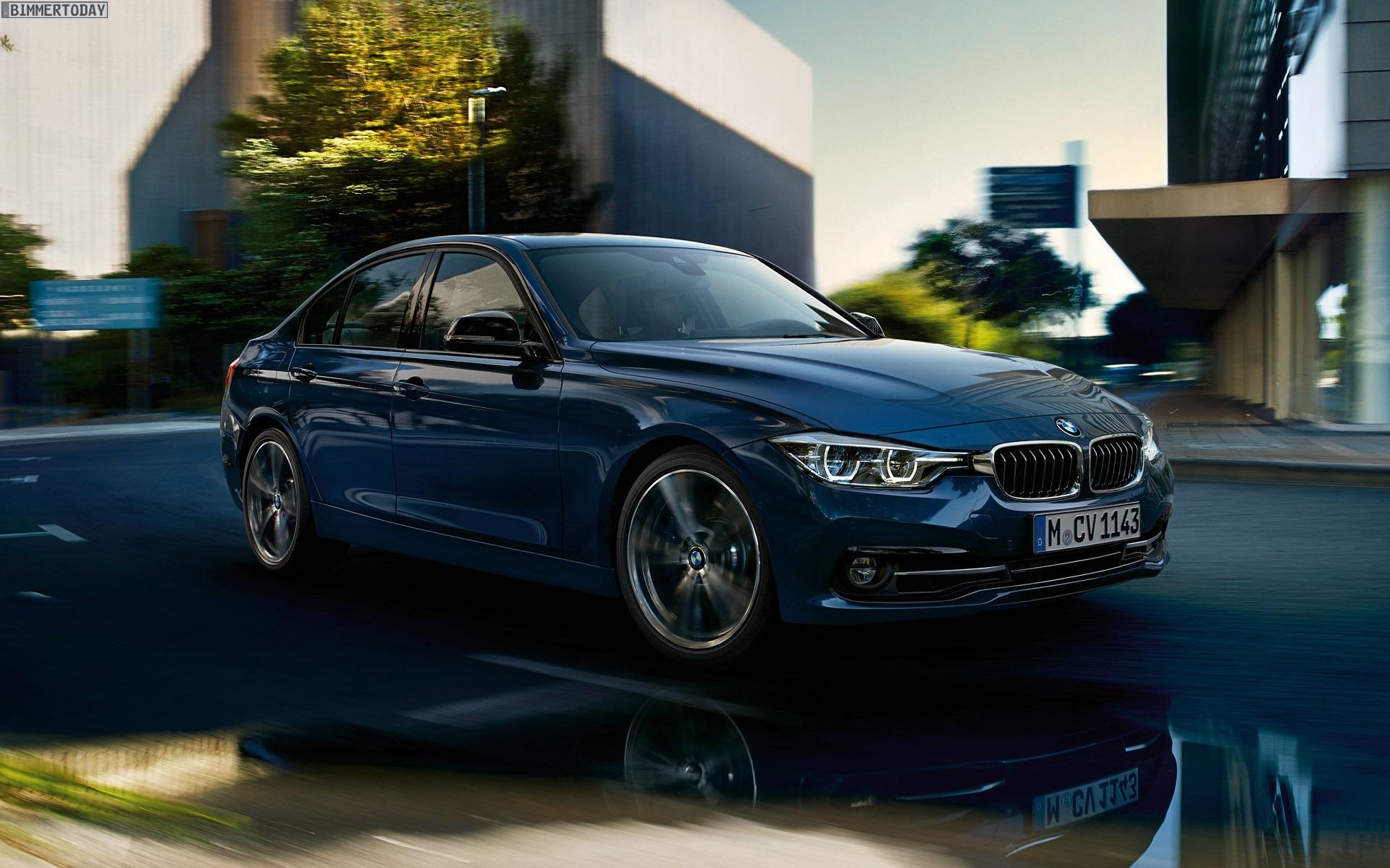 BMW 3er Facelift 2015: Offizielle Wallpaper zu F31 & F30 LCI