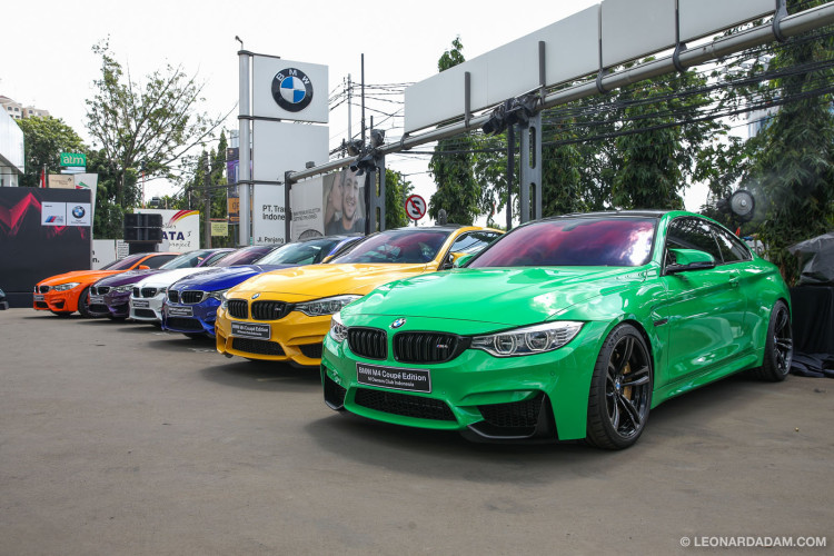 BMW M Owners Club Indonesia (MOCI) M4 MOCI Edition Launch
