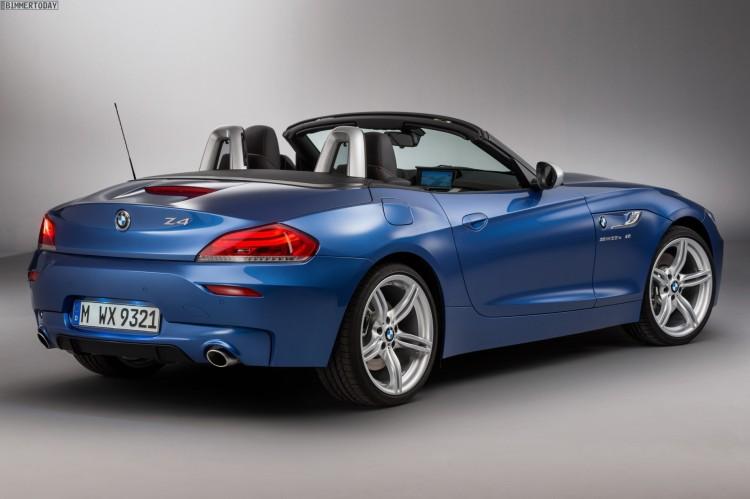 Bmw Z4 Estorilblau Als Neue Option F 252 R E89 Mit M Sportpaket