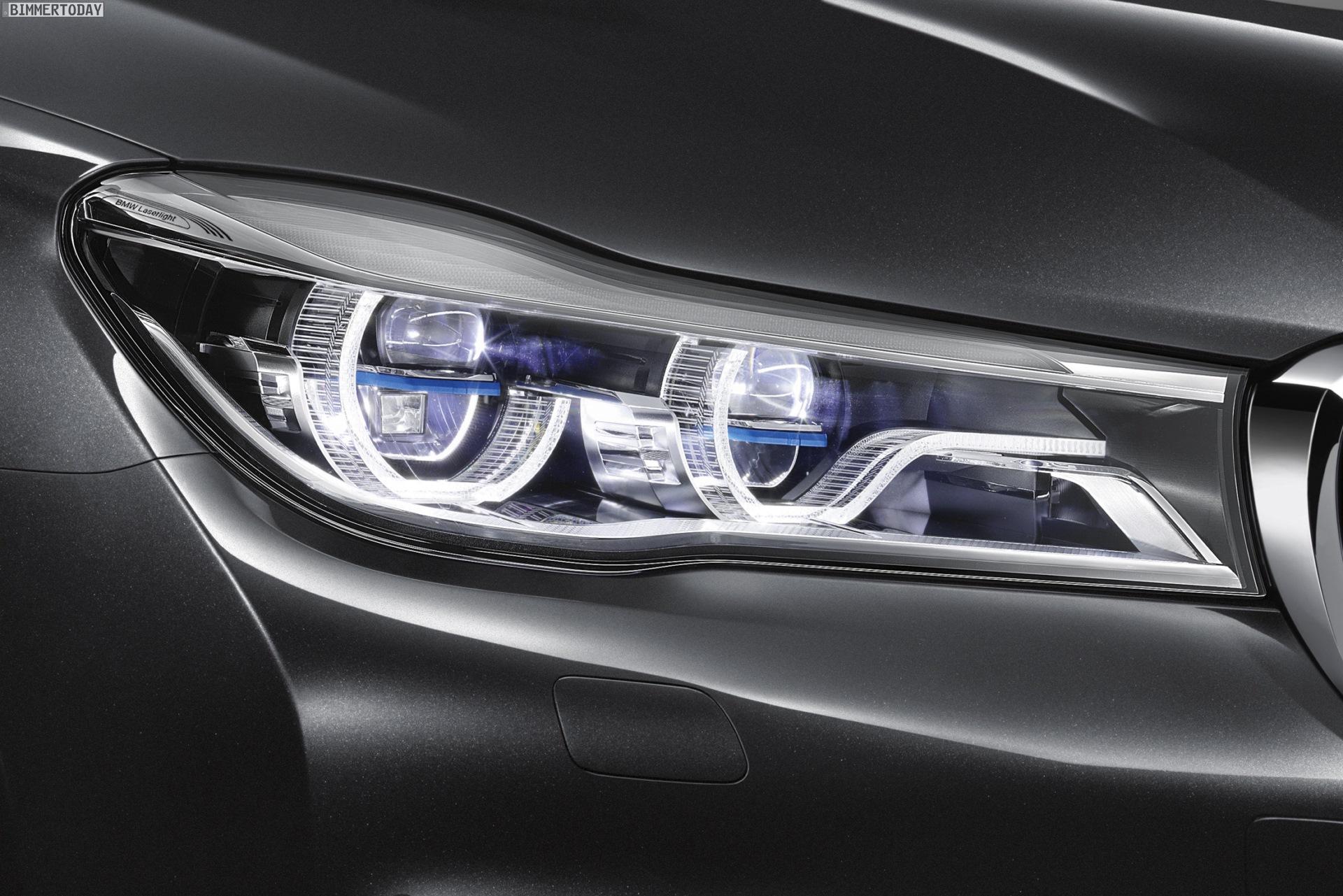 Bmw 7er 2015 Neue Laserlicht Scheinwerfer Mit Selective Beam