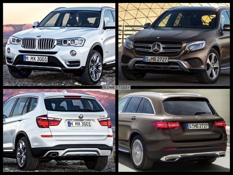 Bild-Vergleich-BMW-X3-F25-LCI-Mercedes-GLC-SUV-2015-01