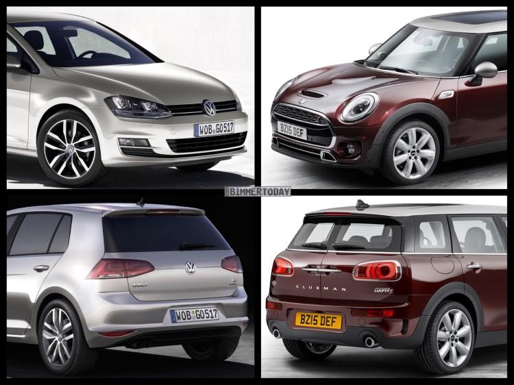 Bild-Vergleich-MINI-Clubman-F54-VW-Golf-VII-2015-01