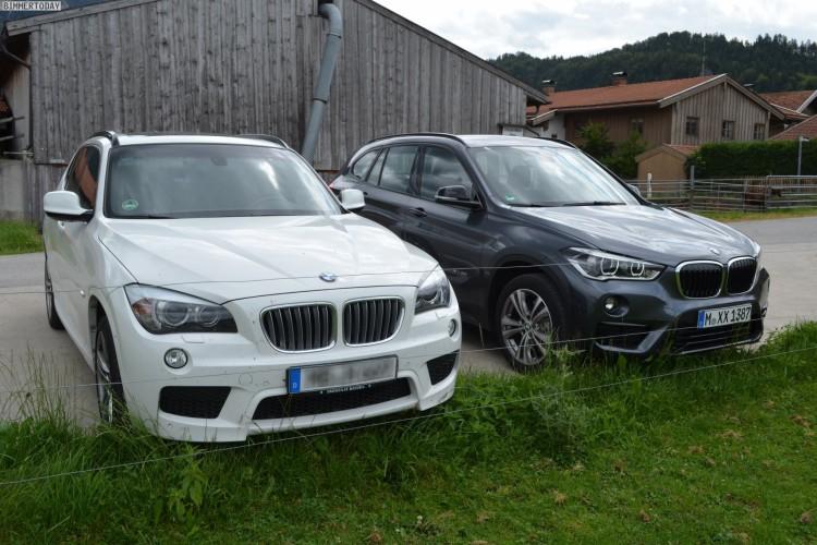 Bmw X1 2015 Generationen Vergleich Mit F48 Und E84