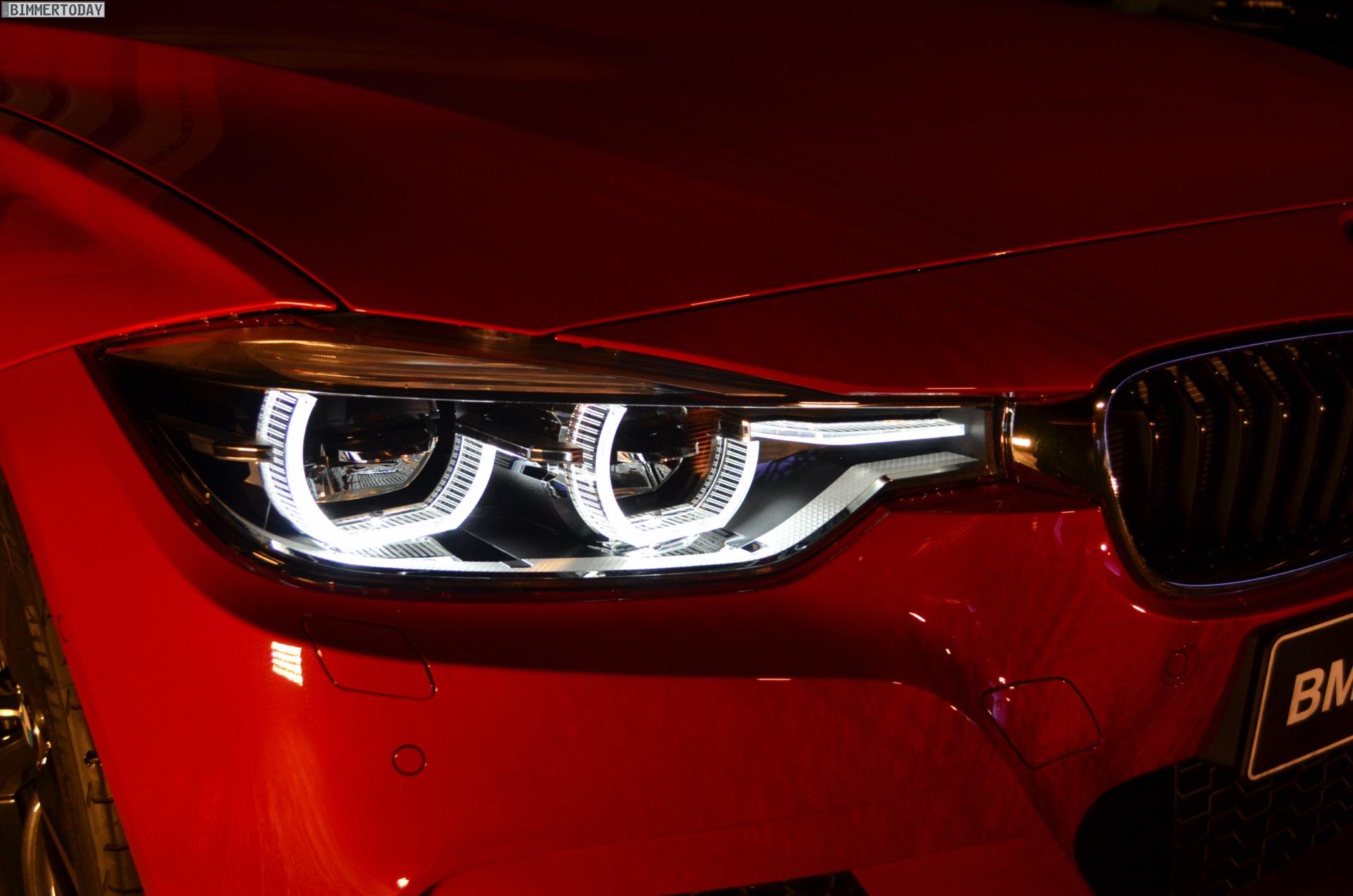 Bmw 3er Facelift 2015 Licht Und Nacht Design F30 F31 Lci