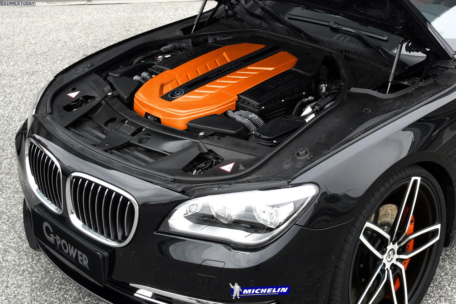 G Power Bmw V12 Tuning 610 Ps F 252 R 760i F01 Amp 760li F02