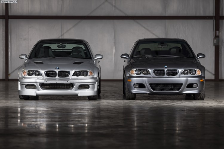 BMW M3 GTR Street E46 mit V8-Motor, rechts M3 E46 mit R6
