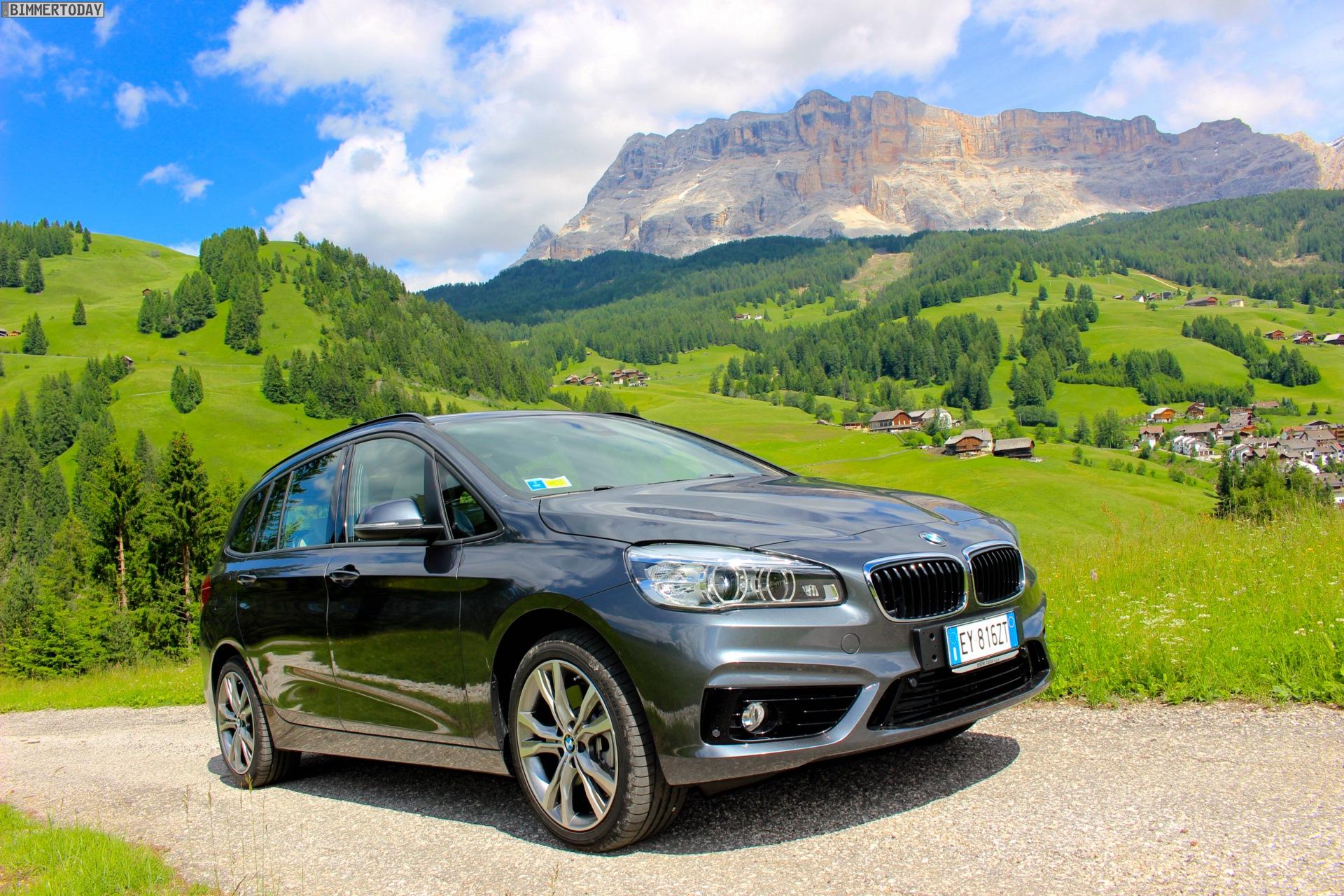 BMW 2er Gran Tourer: Neue Fotos zeigen F46 in Mineralgrau