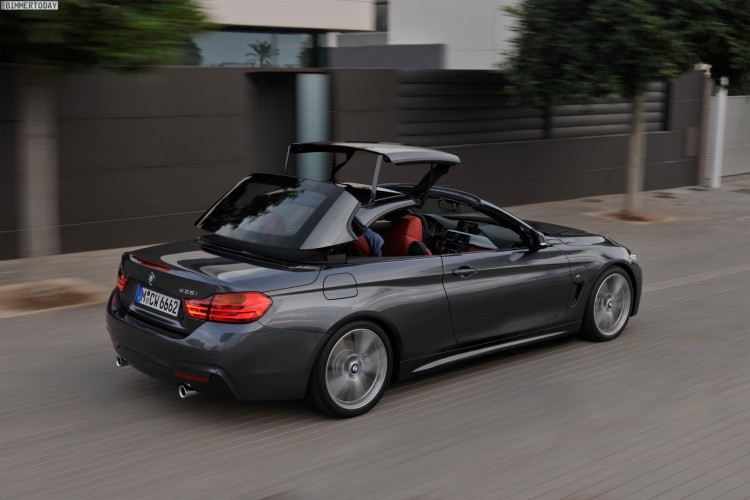 bmw 4er cabrio g23 stoffdach ersetzt metall klappdach. Black Bedroom Furniture Sets. Home Design Ideas