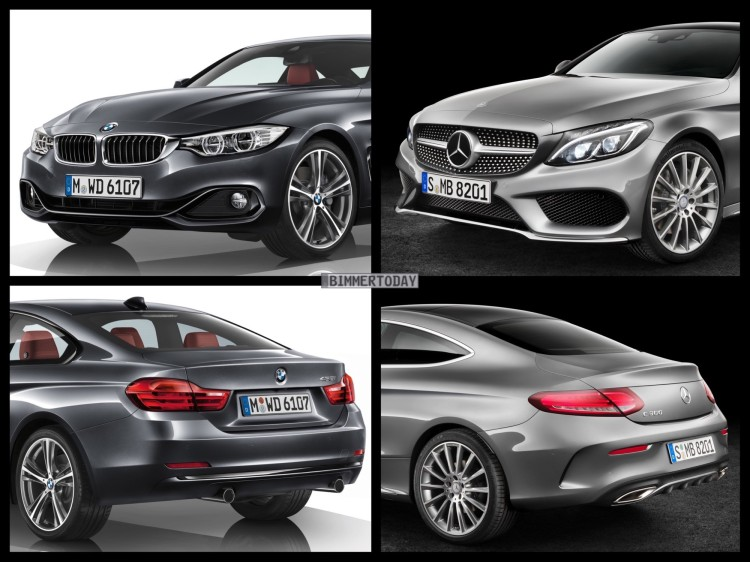 Bild-Vergleich-BMW-4er-Coupe-F32-Mercedes-C-Klasse-Coupe-2015-02