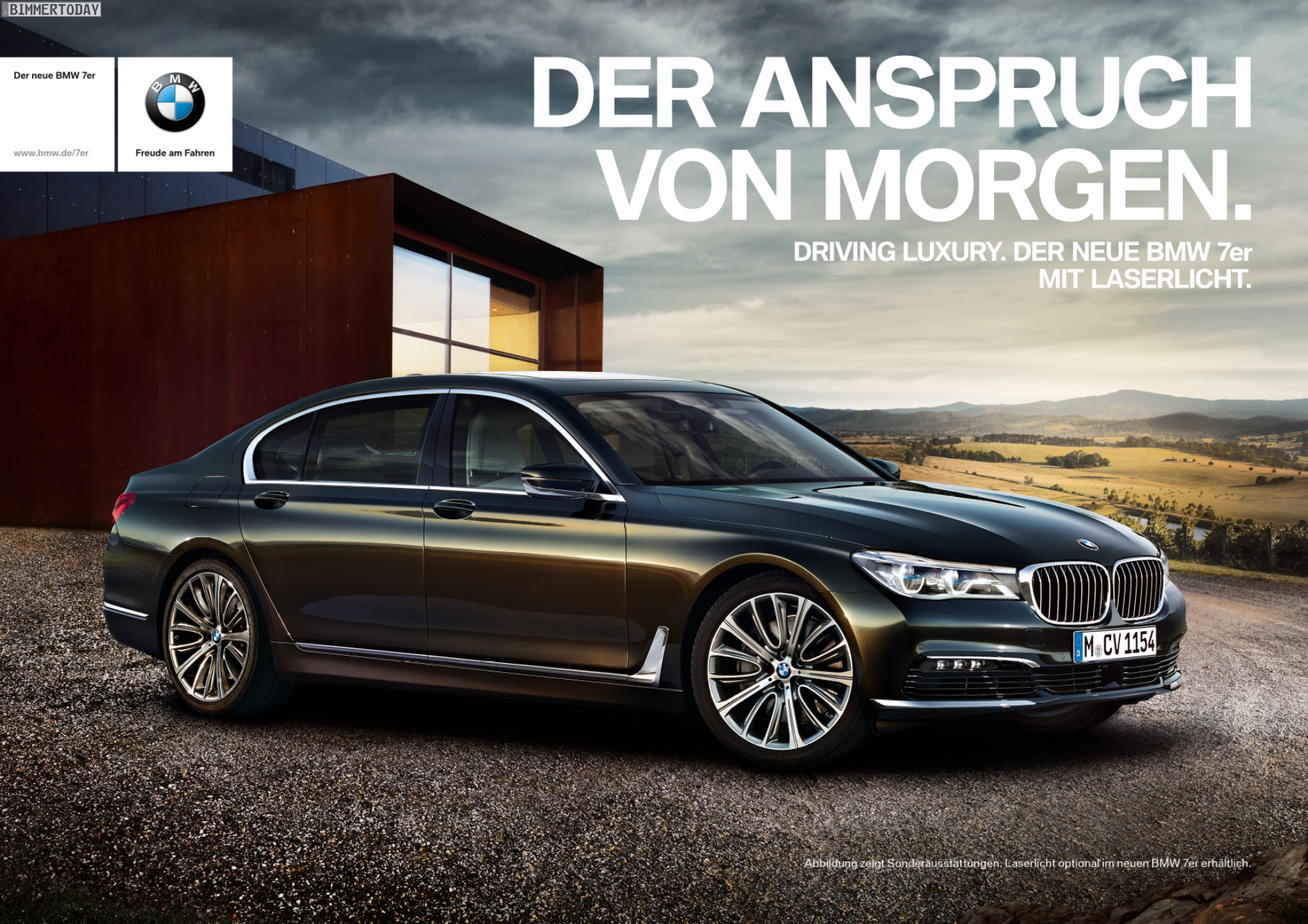 der anspruch von morgen bmw 7er werbung f r tv und print. Black Bedroom Furniture Sets. Home Design Ideas