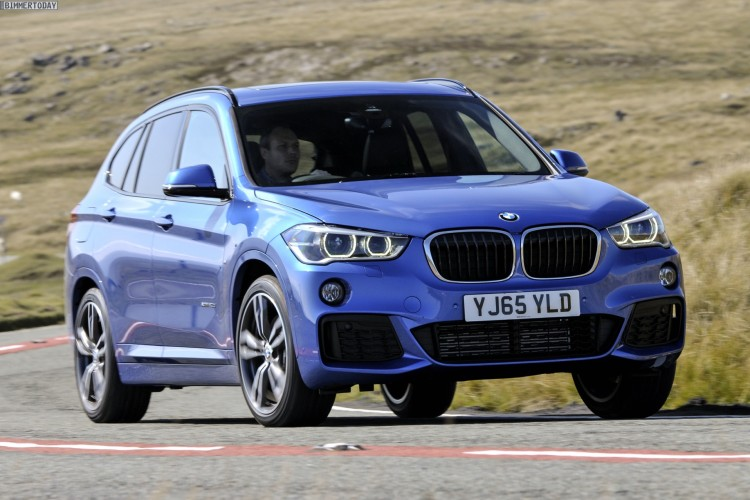 Bmw X1 F48 Mit M Sport Paket In Estorilblau Neue Fotos