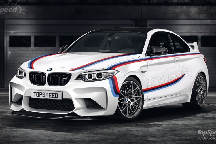 Bmw M2 Csl Rendering Zeigt Power Version Des M2 F87