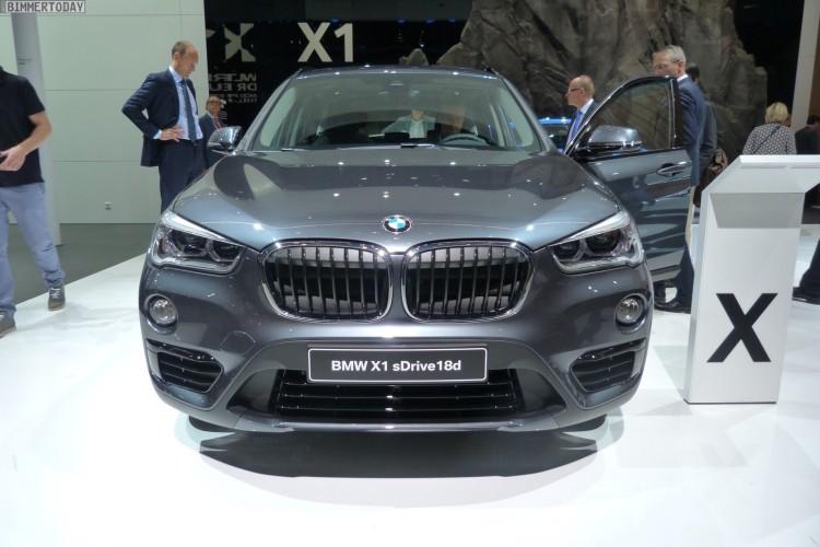Iaa 2015 Bmw X1 F48 Mit Sport Line In Mineral Grau Sdrive18d
