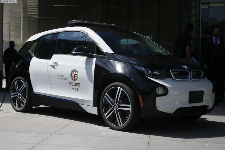 Lautlos Im Einsatz Lapd Nutzt Bmw I3 Als Polizei Auto