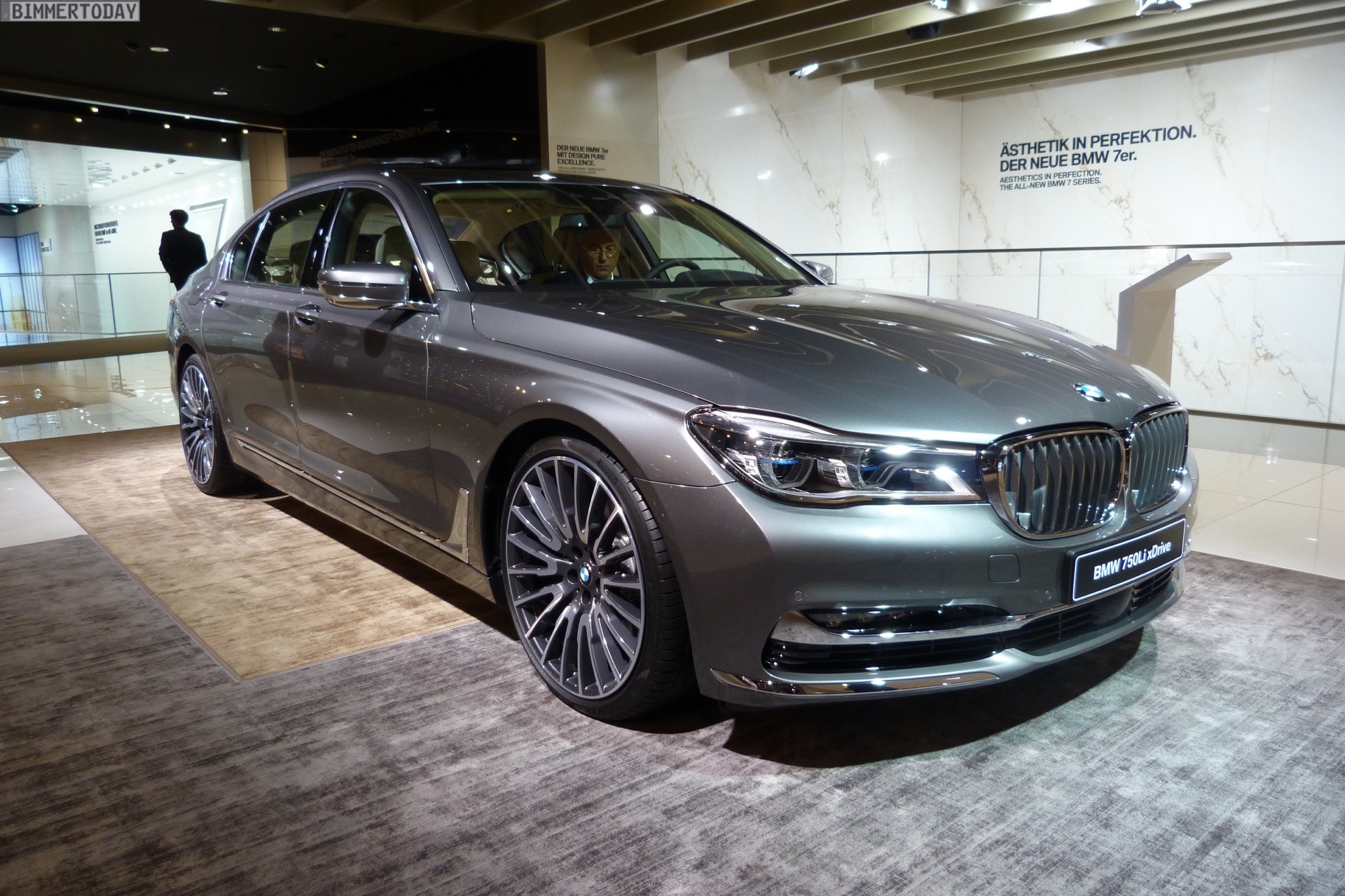 Iaa 2015 Bmw 7er Design Pure Excellence Mit Vollem G12 Luxus