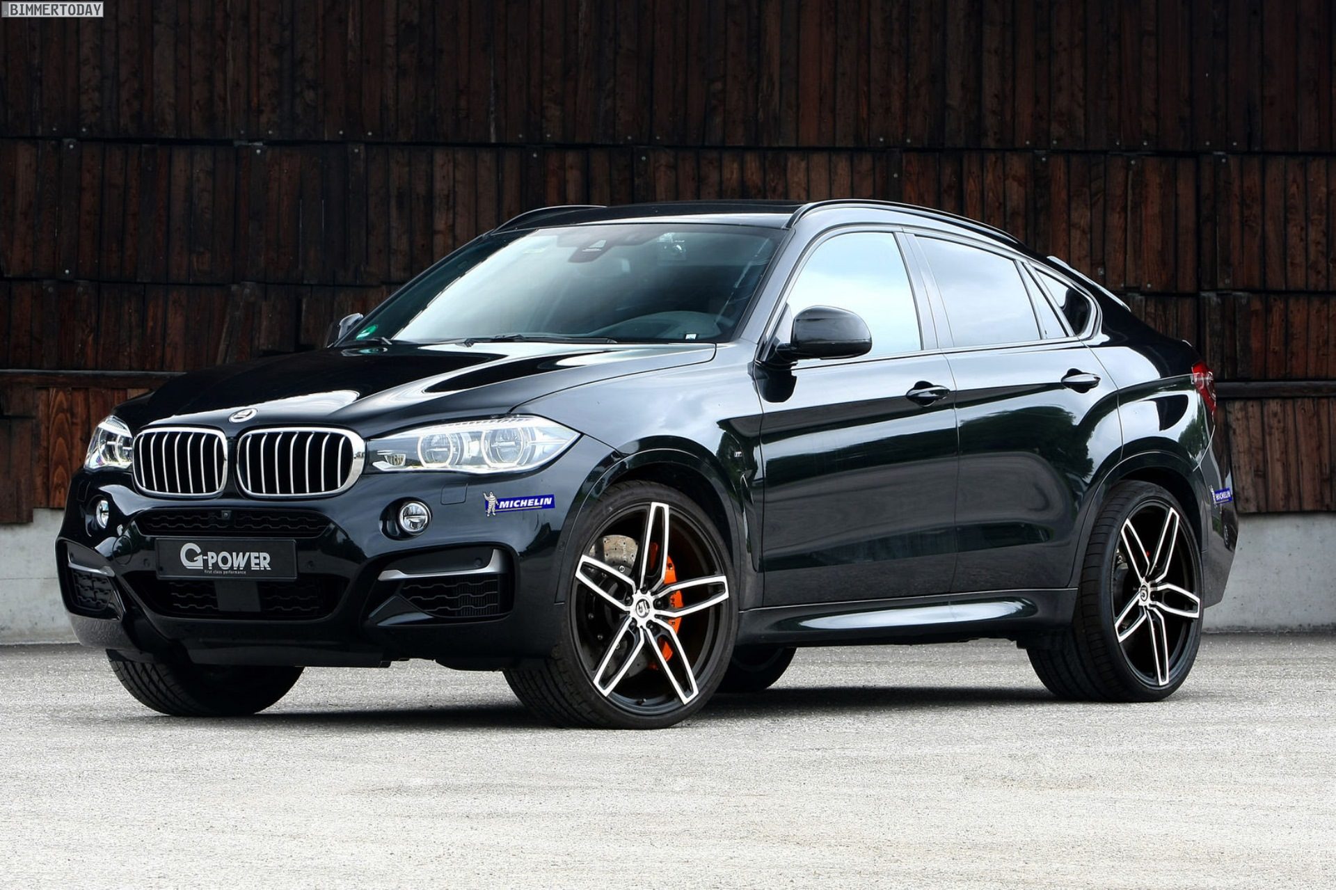 G Power BMW X6 M50d Diesel Tuning sorgt für 455 PS