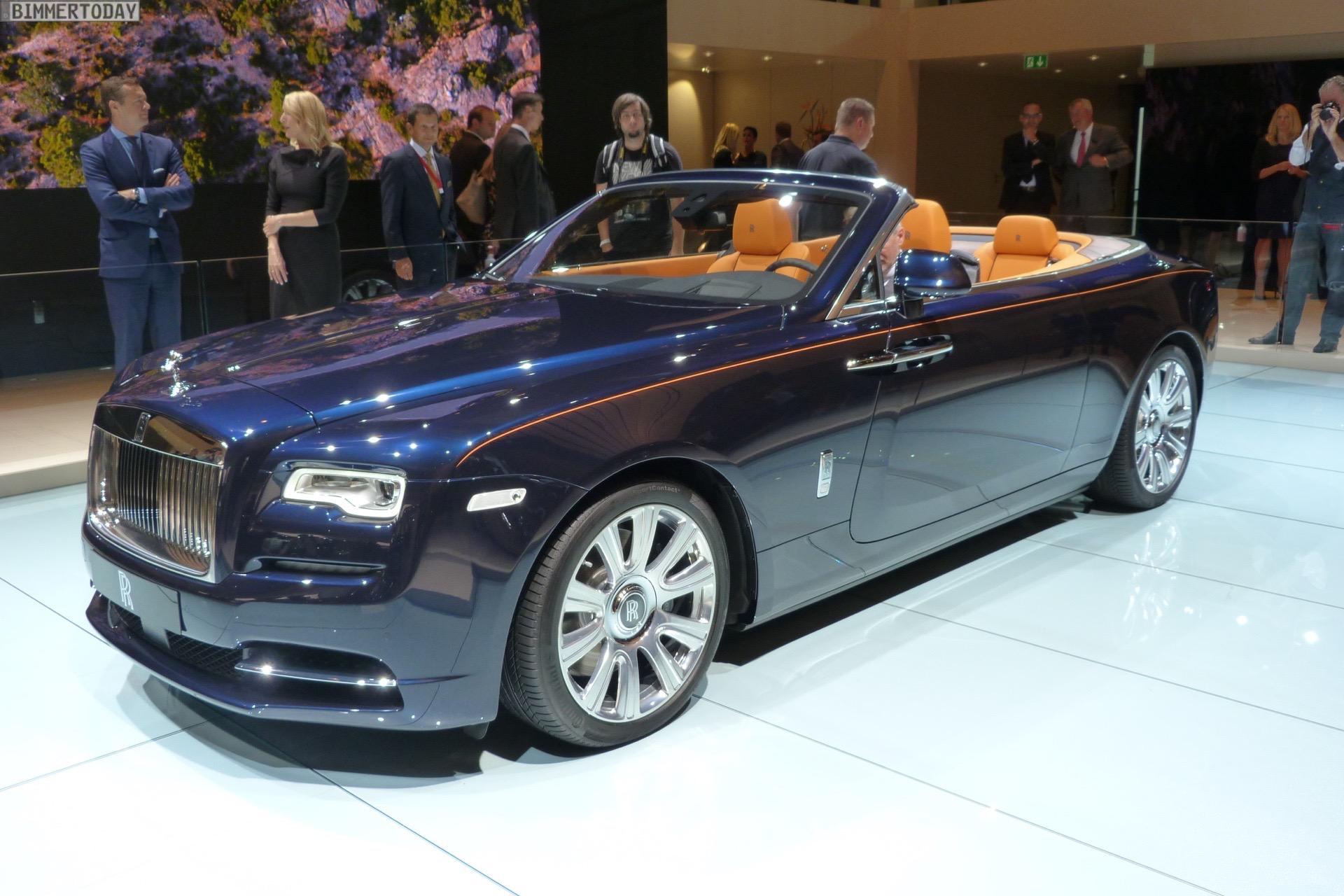 Iaa 2015 Rolls Royce Dawn Als Dynamisches Luxus Cabrio