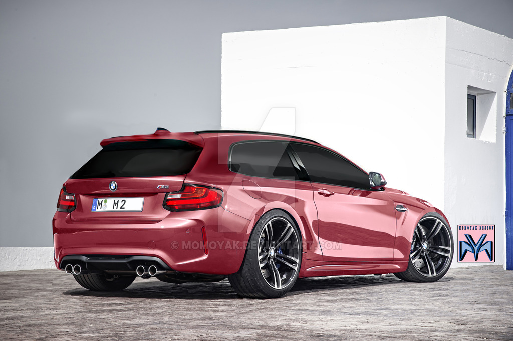 Bmw M2 Shooting Brake Entwurfe Erinnern An Z3 Coupe