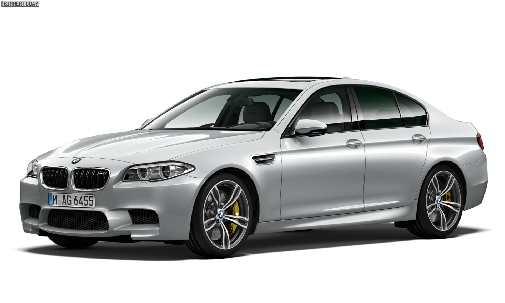 Bmw M5 Pure Metal Edition F10 Sondermodell Mit 600 Ps