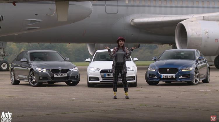 Audi-A4-BMW-3er-Jaguar-XE-Video-Auto-Express
