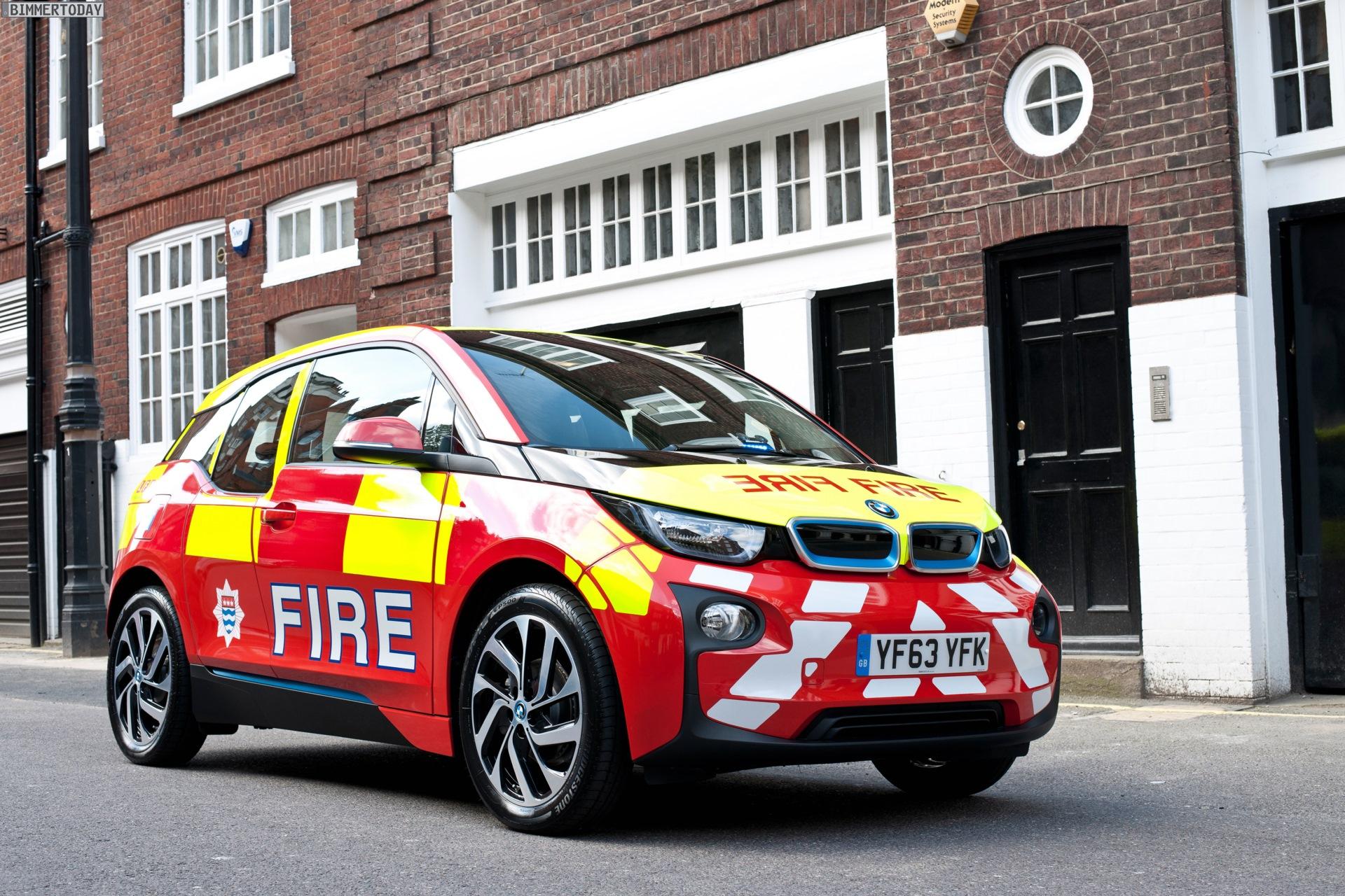 Bmw I3 International Im Einsatz F 252 R Polizei Feuerwehr Amp Co