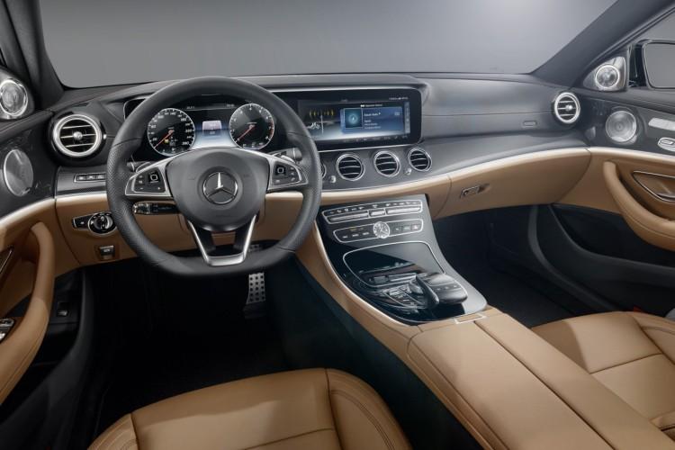 Mercedes E Klasse 2016 Fotos Vom Innenraum Des 5er Rivalen